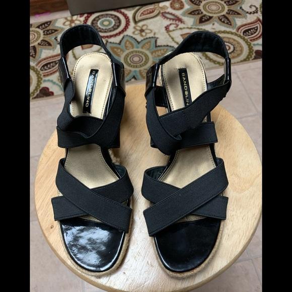 Bandolino Shoes - Bandolino black wedge sandal